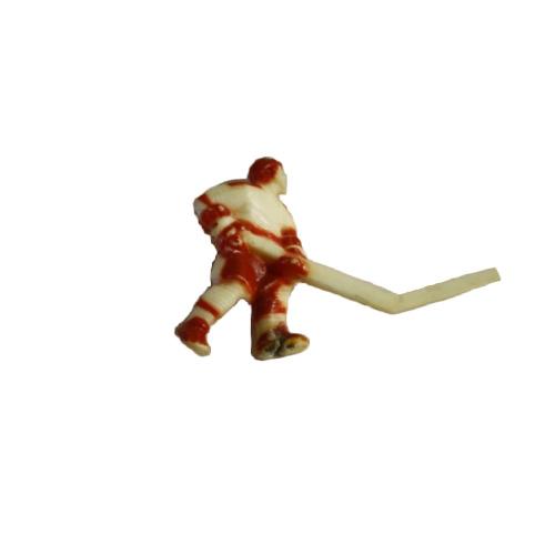 Hokejista červený